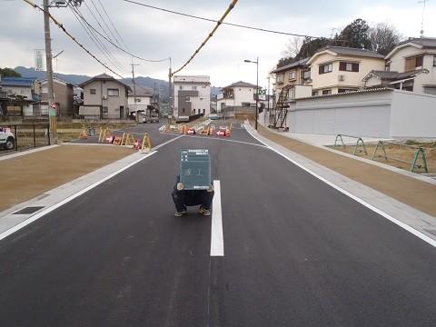 都市計画道路桜井駅メスリ塚線 道路改良工事