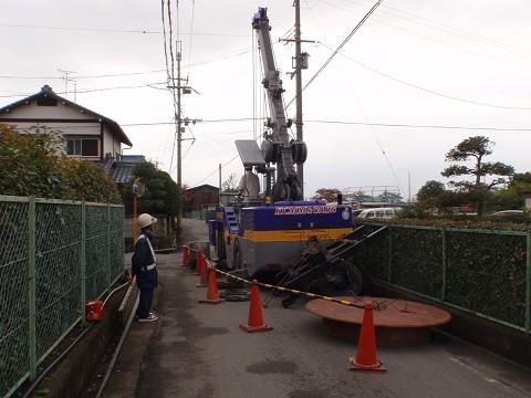 桜井市公共下水道整備事業 戒重枝線 管渠築造工事 24-第2工区
