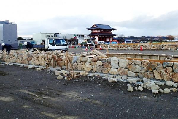 平城宮跡歴史公園(朱雀大路西側地区)公園造成工事