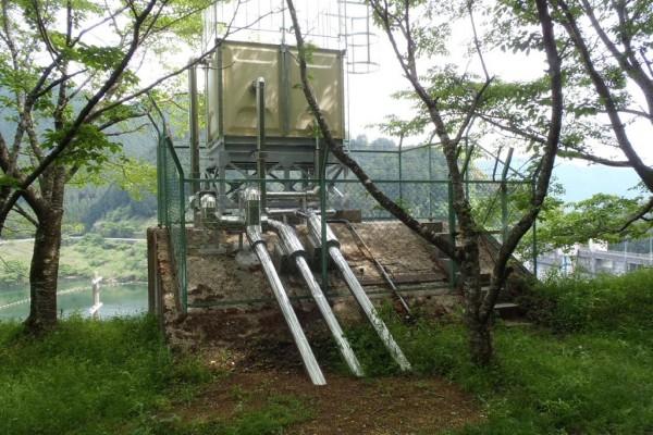 初瀬浄水場廃止に伴う県水切替工事