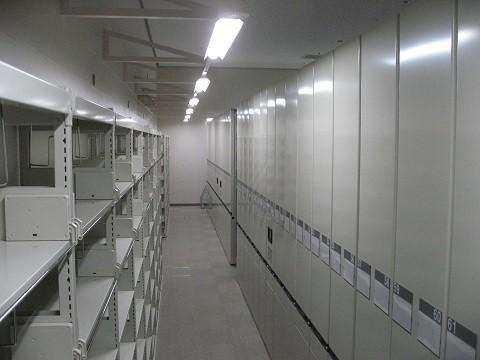 奈良大学図書館棟 書架増設工事