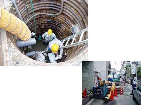 王寺町公共下水道事業 管渠築造工事