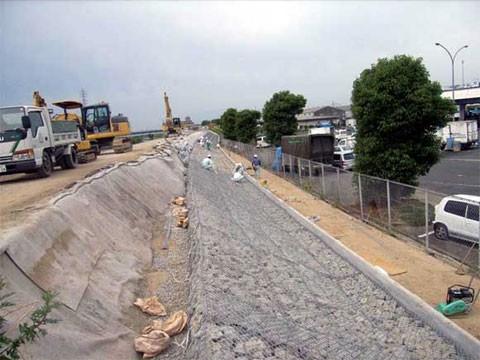 馬司地区堤防対策工事