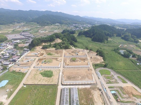 農業研修開発センター整備事業 ほ場整備工事(Ⅰ期工事)
