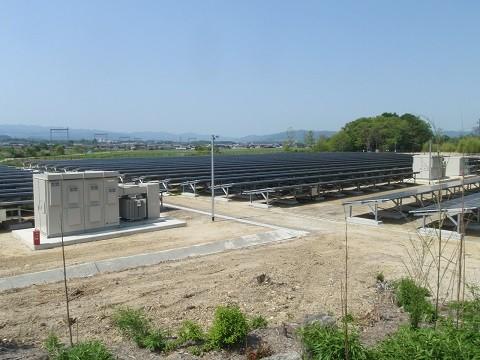 新日本輸送株式会社 名張美旗メガソーラー発電事業 造成工事