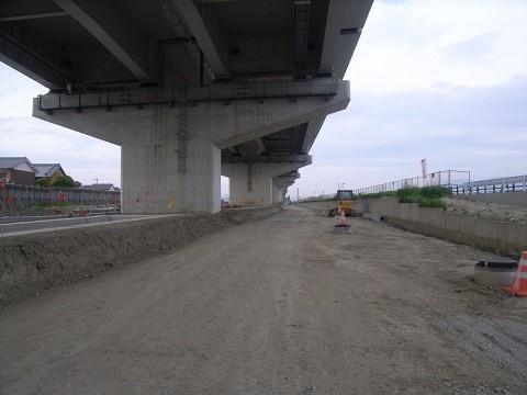 大和御所道路三宅三河地区 改良工事