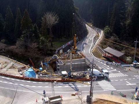 桜井吉野線 地方特定道路整備事業 道路改良工事