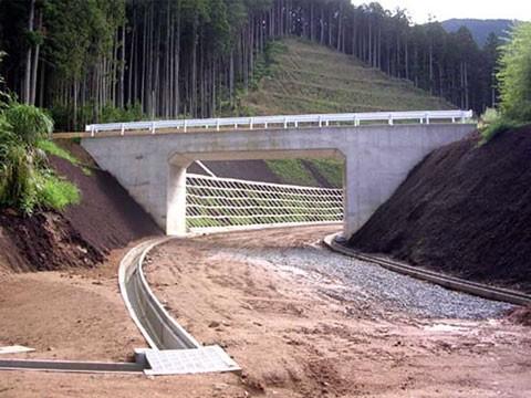 ふるさと農道緊急整備事業 針道宮奥地区針道 第3工区工事