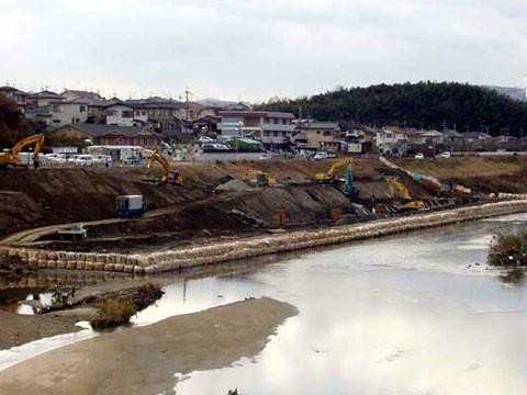 大和川上流 浄化施設工事