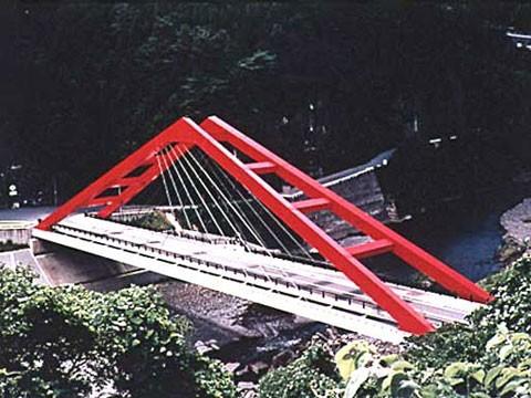 大原橋 架設工事